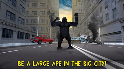 Gorilla Rampage Attack: Destroy City Full screenshot one
