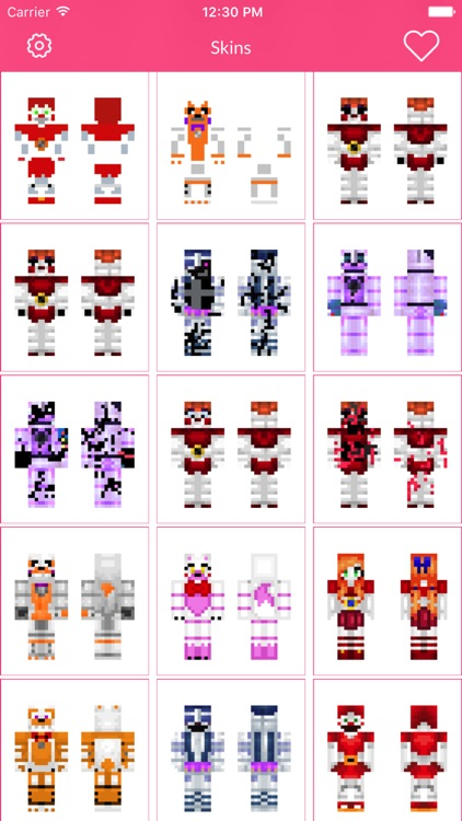 FNAF Skins For Minecraft Edition screenshot-3