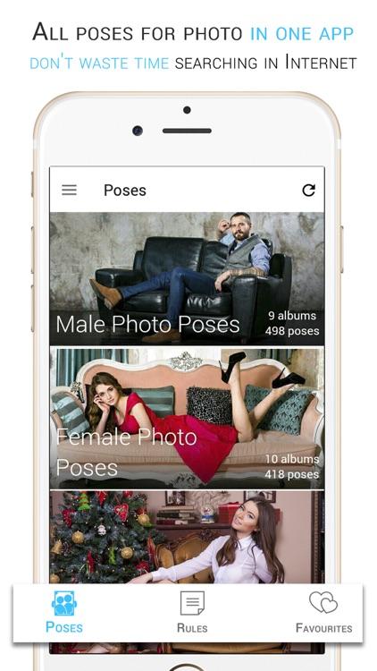 Posing App for Photoshoot by Denis Kirichenko