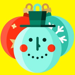 Christmas Balls Emoji Happy New Year 2017 Stickers