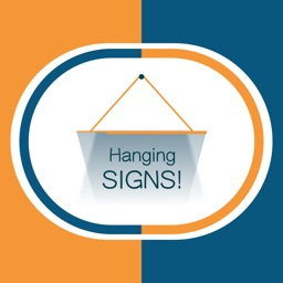 Hang a Sign! (Orange/Dark Blue)