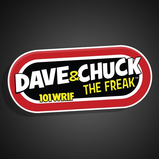 Dave & Chuck the Freak WRIF Stickers