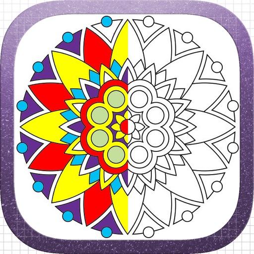 Adults Color Book - Dream Mandala Art Page