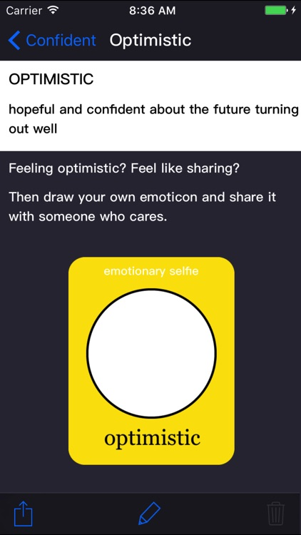 emotionary + by Funny Feelings ®