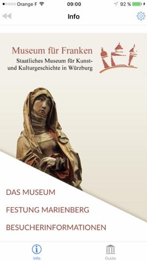MUSEUM FÜR FRANKEN AUDIOGUIDE Screenshot