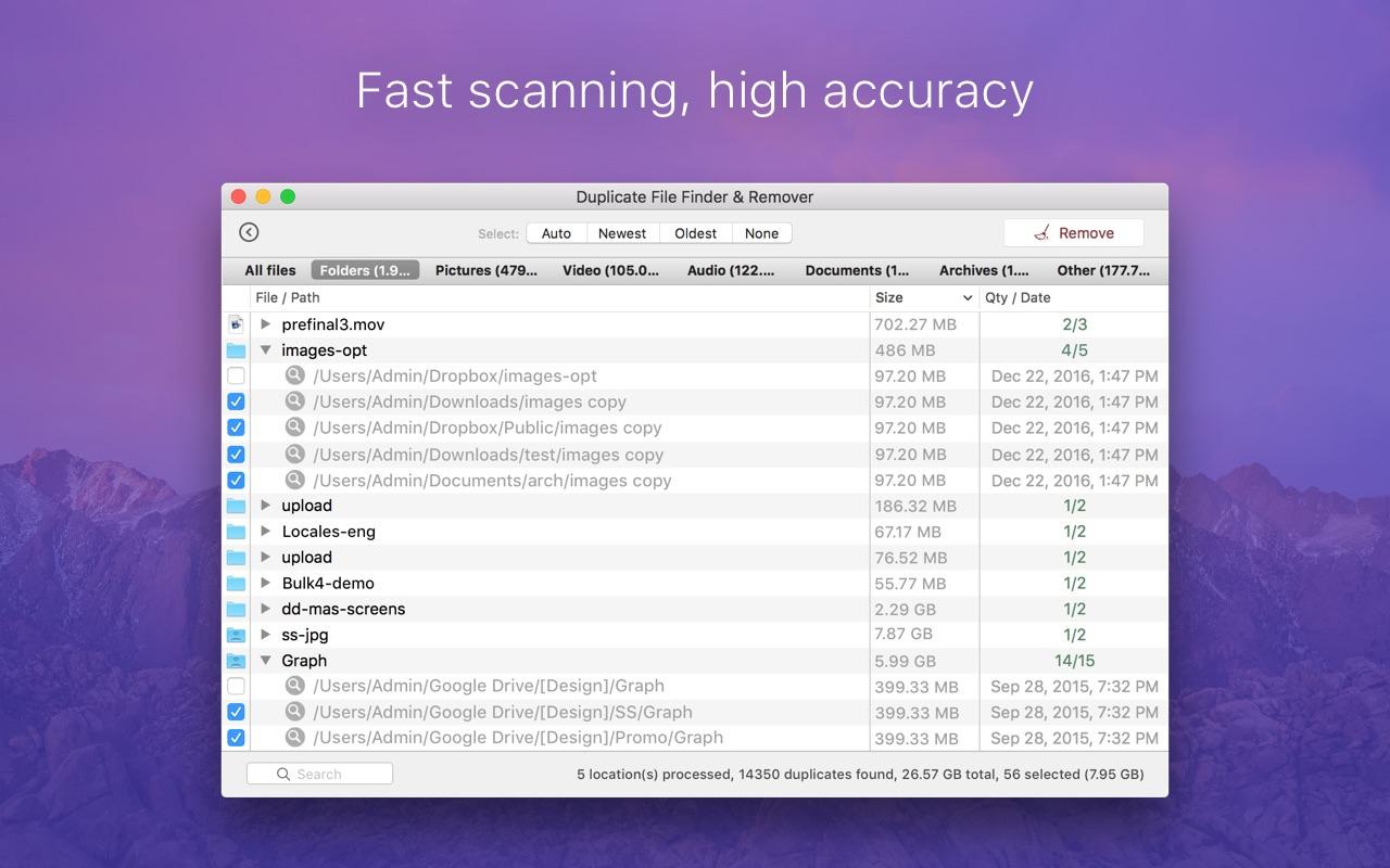 Screenshot do app Duplicate File Finder & Remover
