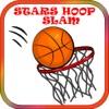 空间跳跃明星圈大满贯篮球比赛。