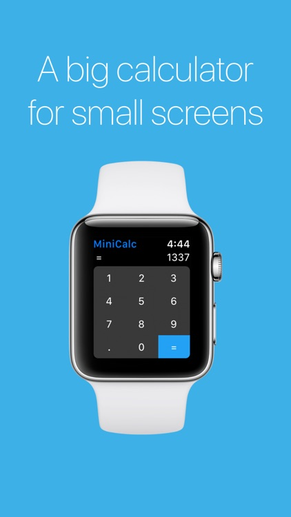 MiniCalc - Watch Calculator