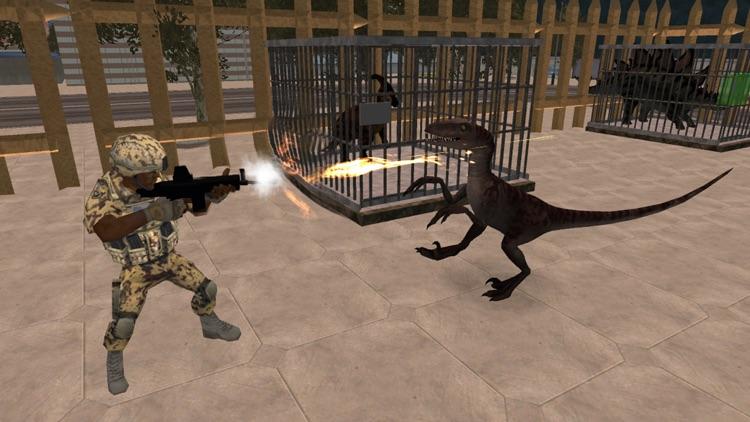 Dinosaur In The City : Dreadnought Simulator