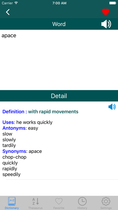 English Dictionary for Windows