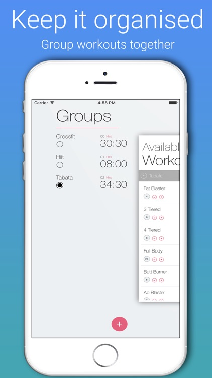 TimeMe Pro-Exercise Interval timer for HIIT/Tabata screenshot-3