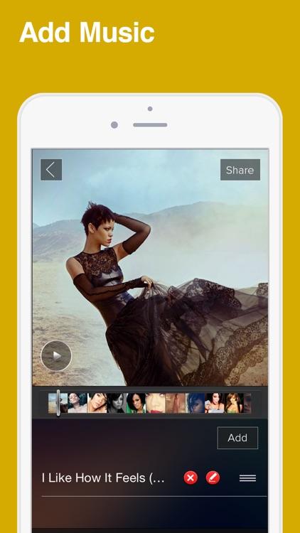SlideShow Movie Video Maker screenshot-3