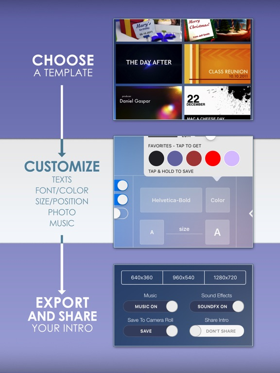 Intro designer lite create intros for imovie app price drops screenshot 2 for intro designer lite create intros for imovie maxwellsz