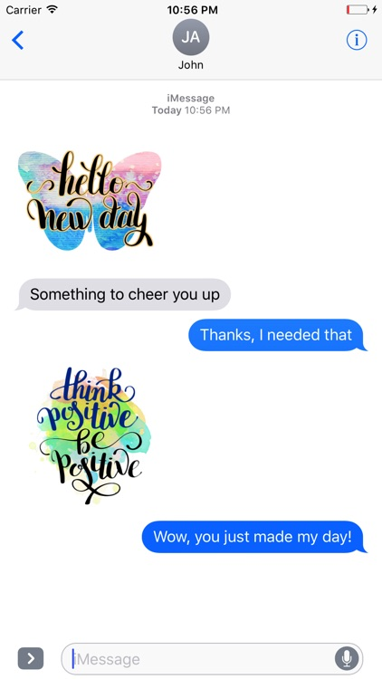 Animated Happy Quotes Stickers screenshot-4