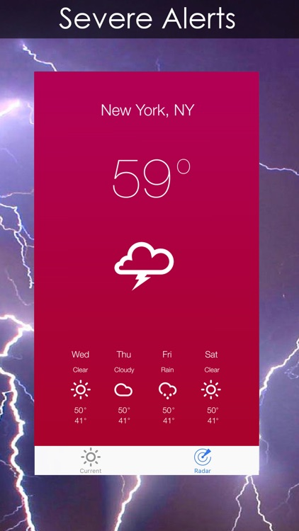 Weather Radar + Forecast screenshot-3