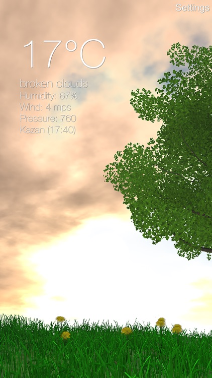 Nature Live Weather 3D PRO screenshot-2