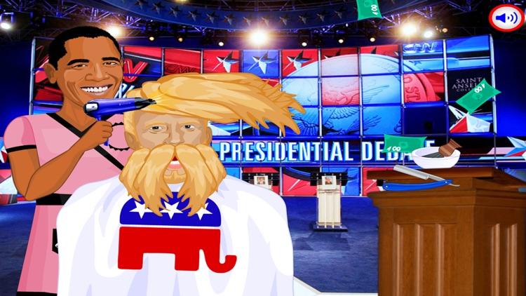 Makeup Hair Games:Trump VS Clinton