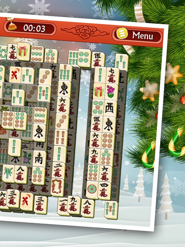 Mahjong Christmas.Christmas Mahjong 3d Classic Winter Puzzle Game On The App