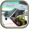 Piloto de aviones de carga de tractores 3D