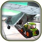 3D农用拖拉机货物飞机飞行员 icon