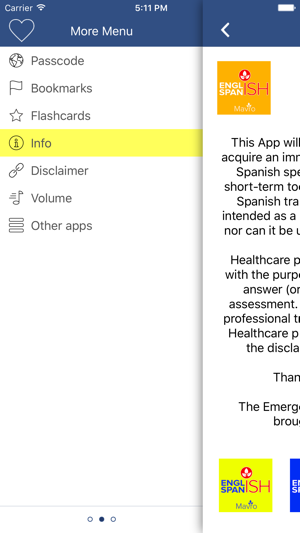 Occupational Therapy Spanish Guide (OTSG) on the App Store