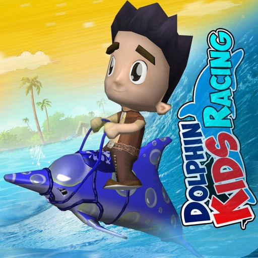 Dolphin Kids Racing - Dolphin Racing Game For Kids