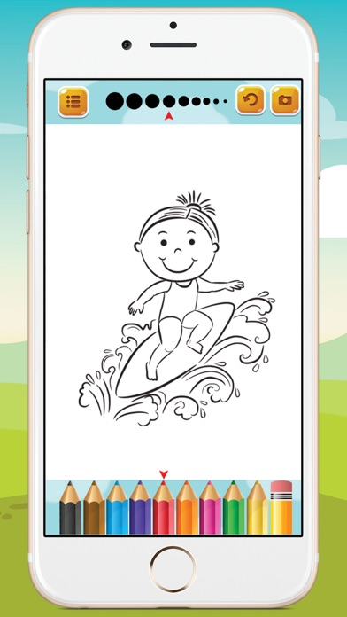 Kids Sport Coloring Book screenshot four