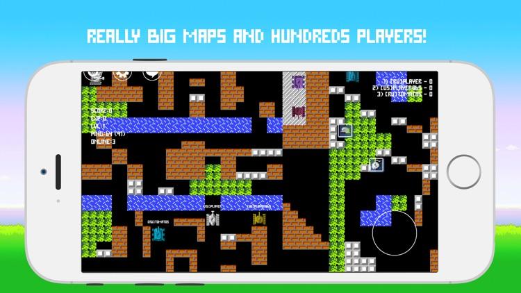 Tanks Online 8-bit
