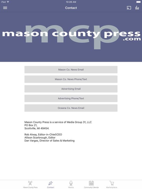 Mason County Press screenshot 5