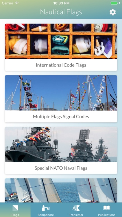 Nautical Flags and Signals