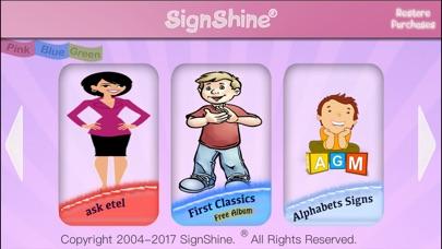 SignShine iPhone