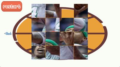 Boston Basketball Player Puzzles 2017 screenshot three