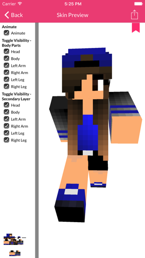 Girl Skin For Minecraft Edition On The App Store