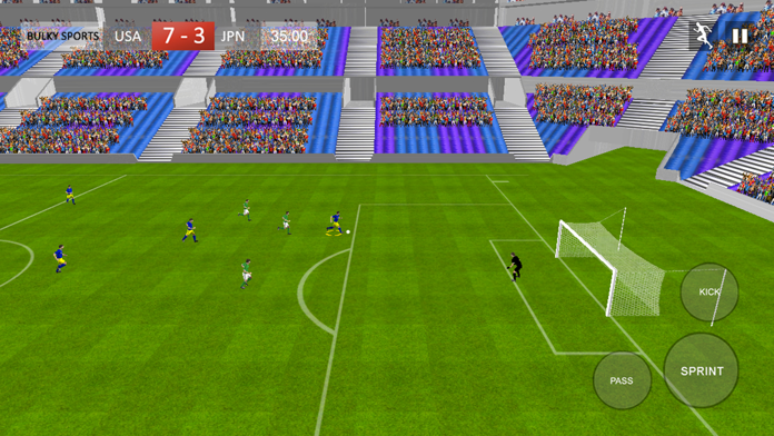Soccer 2017 Games - Real Matches of Striker player Screenshot