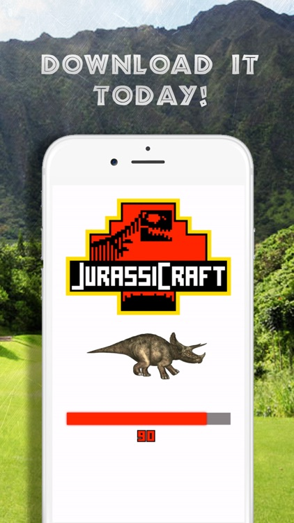 Dinosaur & JurassiCraft for Minecraft PC Mod Guide