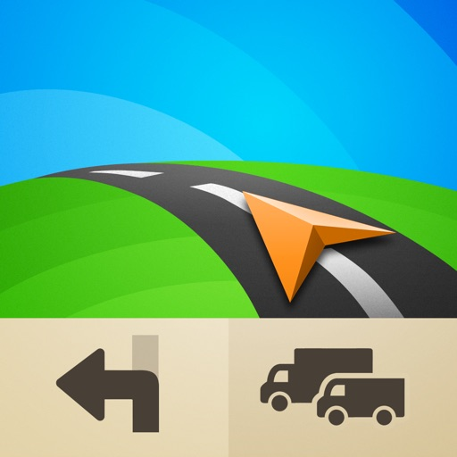 Sygic Truck GPS Navigation for Truck, Van, RV, Bus app logo