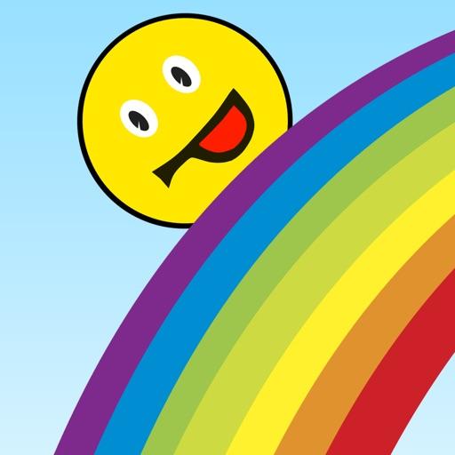 Развивающие игры для детей учим цвета радуги