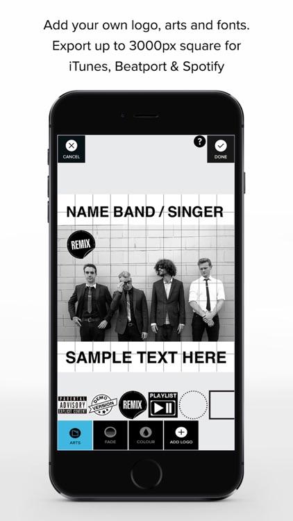 TAD - Music Cover Art Design