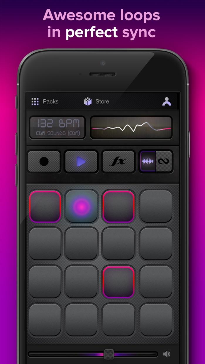 Loopacks - Music Maker, Loop Machine & DJ Beats Screenshot