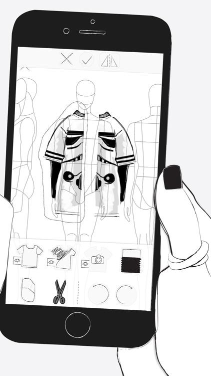 Prêt à Template - Fashion Drawing app image