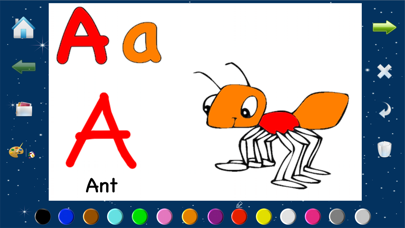 Alphabet Animal Coloring Pages With Painting ABC screenshot one