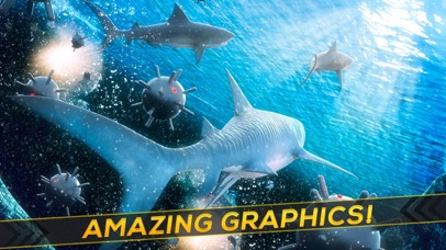Sea Shark Adventure: Shark Simulator Game For Kids-1
