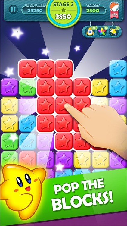 Star Blast: Pop matching star puzzle game screenshot-0
