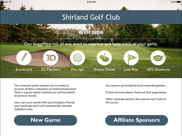 Shirland Golf Club - Buggy