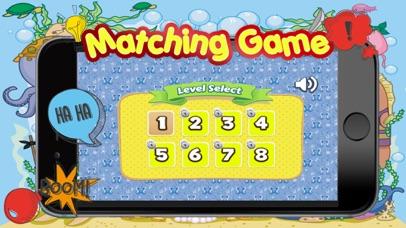 Sea Animals Matching-Education Learning Matching screenshot three