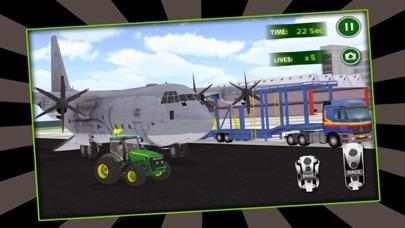Piloto de aviones de carga de tractores 3DCaptura de pantalla de2