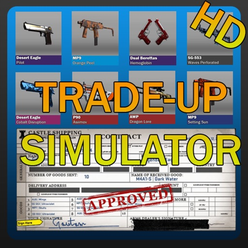 Trade up Contract Simulator for CS:GO