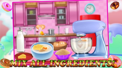 Rainbow Donuts Makers – Baking Chef screenshot two