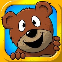 Teddy Jump : The bounding bear