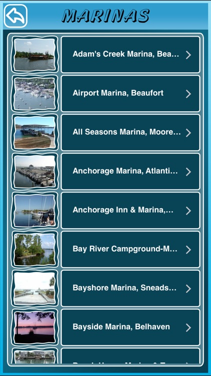 North Carolina State Marinas screenshot-2
